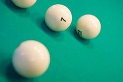 Billiardkugeln Stockfotos