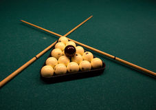 Billiardkugeln Stockfotografie