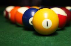 Billiardkugeln Lizenzfreies Stockbild