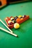 Billiardpool Stockfotos