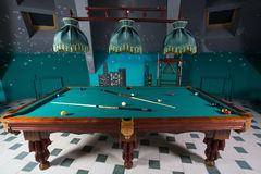 billiards Fotografia Stock