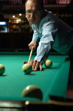Billiards. Royalty Free Stock Photography