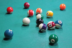 Billiards Stock Photography