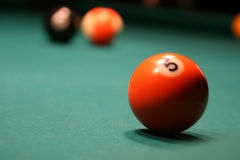 billiards Obraz Royalty Free