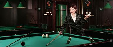 Billiards 2 Stock Photo