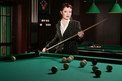 Billiards 3 Royalty Free Stock Photos