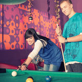 Billiards Fotografia Royalty Free