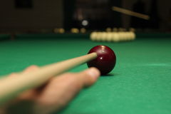 Billiards Obrazy Stock