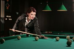 Billiards 4 Royalty Free Stock Photo