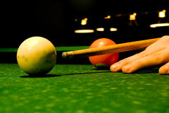 Billiards Royalty Free Stock Photo