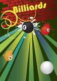 billiards ilustração do vetor