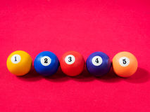 billiards Obrazy Royalty Free