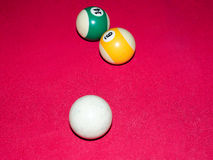 billiards Fotografia Stock