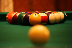 billiards Obrazy Stock