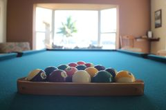 billiards Fotografia de Stock Royalty Free