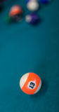 Billiards background Stock Images