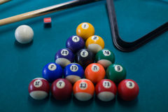 Billiards background royalty free stock photo