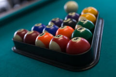 Billiards background royalty free stock photography