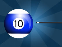Billiards ball Royalty Free Stock Image
