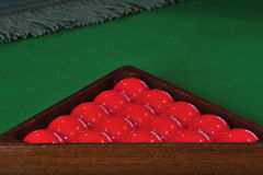 Billiards balls Stock Images
