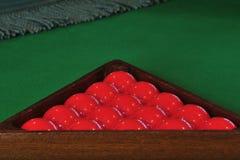 Billiards balls Stock Images