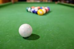 Billiards basen Obraz Stock