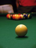 Billiards. Billiard spheres. Royalty Free Stock Images
