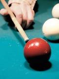 Billiards. Billiard spheres. The Billiard table. Stock Photo
