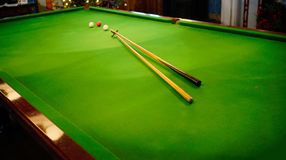 Billiards Royalty Free Stock Photo