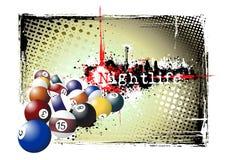 Billiards frame Stock Photos