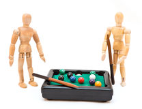 Billiards Game Royalty Free Stock Images