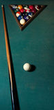 Billiards game Royalty Free Stock Photography