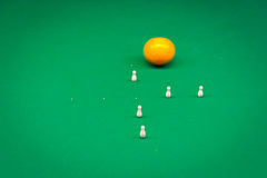 Billiards, game of carom Stock Images