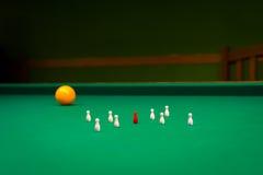 Billiards, game of carom Royalty Free Stock Photos