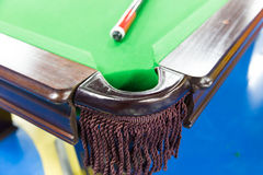 Billiards game Royalty Free Stock Photo