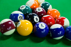 Billiards game Stock Image