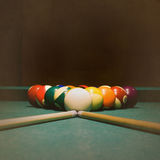 Billiards grunge Obraz Stock