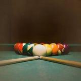 Billiards grunge Stock Image