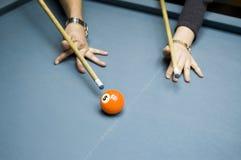 billiards lekcyjni Obrazy Stock
