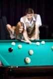 billiards pary sztuka obrazy royalty free