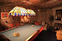 Billiards pokój przy Elvis Presley's Graceland zdjęcia royalty free