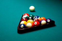 Billiards pool Royalty Free Stock Photos