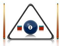 Billiards pool Stock Photography