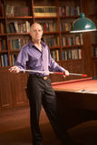 Billiards pool player royalty free stock photography