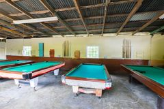 Billiards room Royalty Free Stock Images