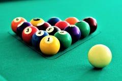 Billiards sinuca Zdjęcie Royalty Free