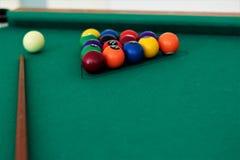 Billiards sinuca Fotografia Stock