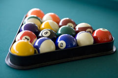 Billiards Triangle 1 Stock Photos