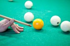 Billiardspelare Arkivbilder