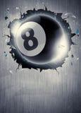 Billiardsportbakgrund Fotografering för Bildbyråer